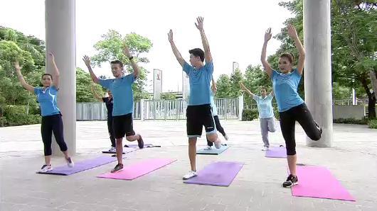 ข.ขยับ X - ออกกำลังกายสำหรับวัยทอง