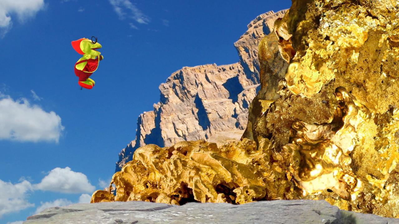 TataTitiToto ไดโนมหัศจรรย์ - ภูเขาทองคำ