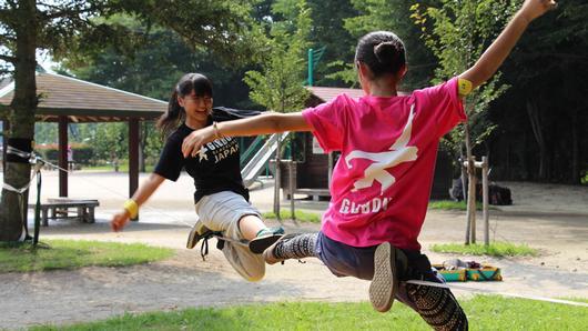 ดูให้รู้ - Slackline กีฬาใหม่ ท้าทายคนญี่ปุ่น