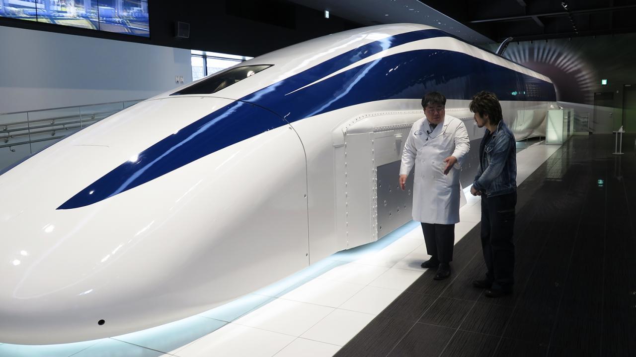 ดูให้รู้ - รถล้ำอนาคต Linear Motor car