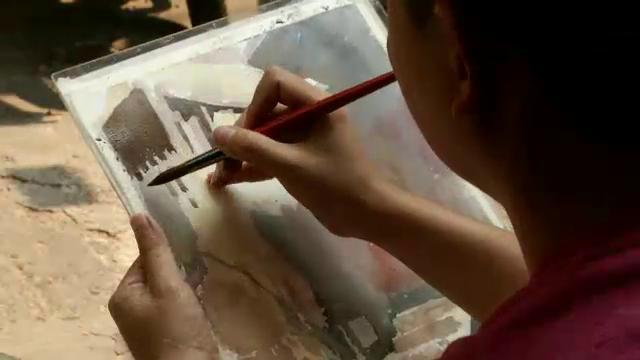 ศิลป์สโมสร - มองบางกอกผ่านเส้นสี