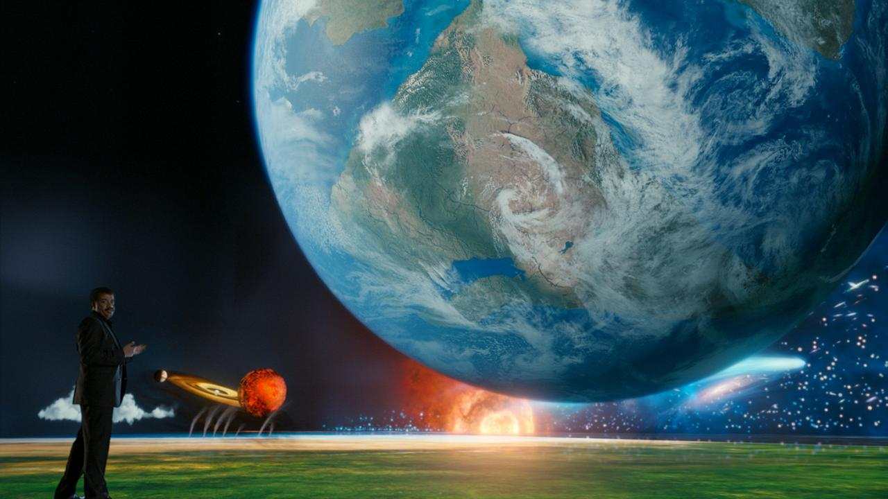 มิติโลกหลังเที่ยงคืน - ผจญภัยสู่กาลอวกาศ ตอน โลกที่สูญหายบนดาวเคราะห์โลก