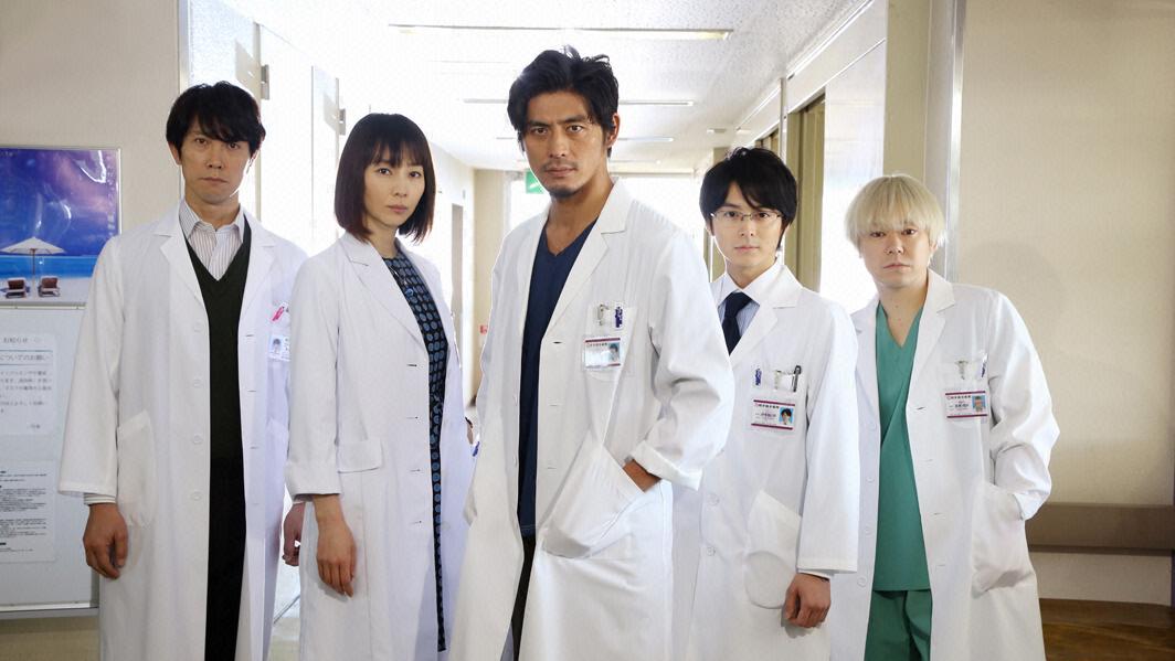 ซีรีส์ญี่ปุ่น คุณหมอหัวใจแกร่ง 4 - Team Medical Dragon 4 : แนะนำตัวละคร