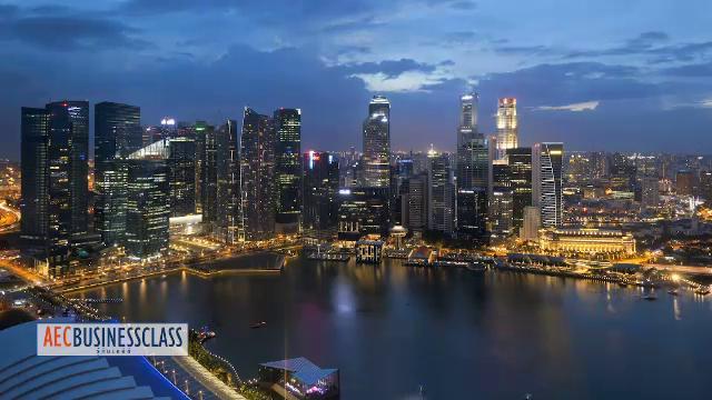 AEC Business Class  รู้ทันเออีซี - สิงคโปร์ เมืองท่าการค้า