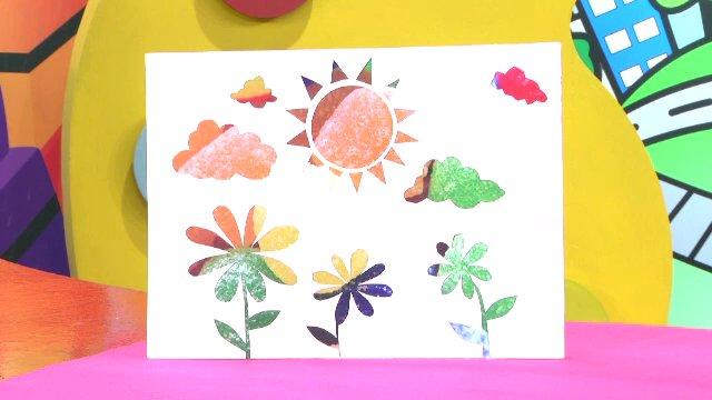 สอนศิลป์ - กระดาษสร้างจินตนาการ