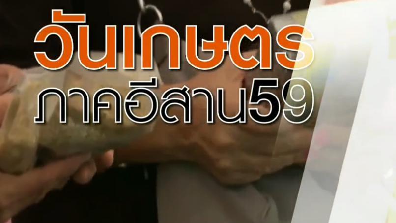 สถานีประชาชน - งานวันเกษตรภาคอีสาน 2559