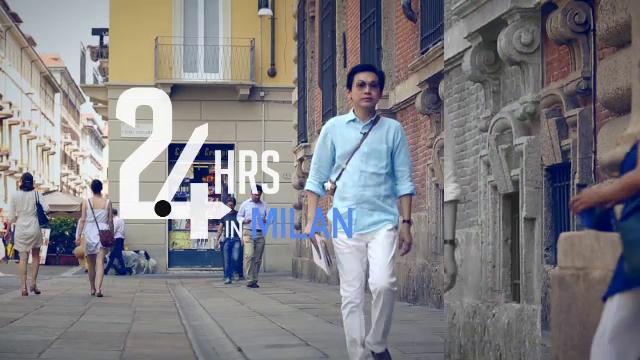 โลกเปลี่ยนต้องเปลี่ยนโลก - 24 HRS IN MILAN