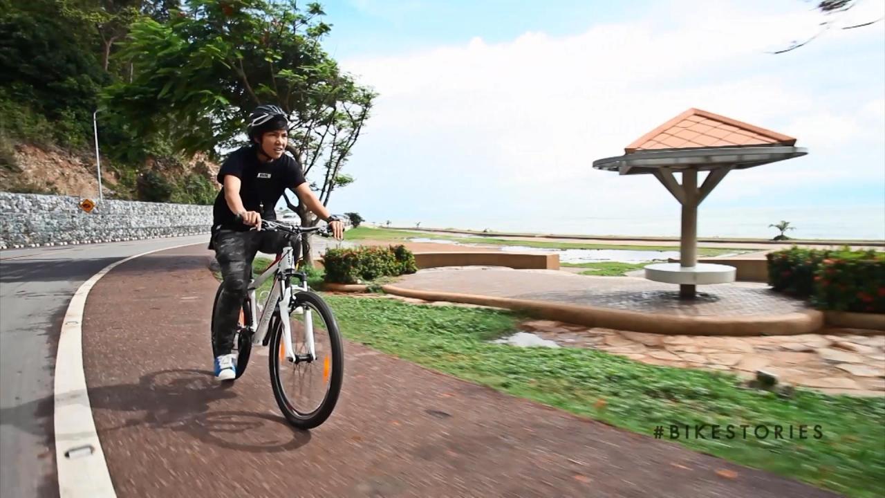 Bike Stories - สุด chill บนถนนเลียบหาดคุ้งวิมาน