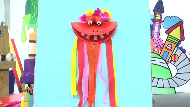 สอนศิลป์ - หุ่นเชิดมังกร