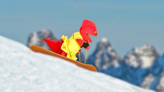 TataTitiToto ไดโนมหัศจรรย์ - เล่นสกีกันดีกว่า