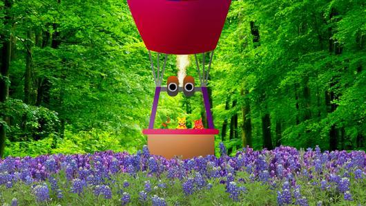 TataTitiToto ไดโนจอมป่วน - ท่องเที่ยวด้วยบอลลูน
