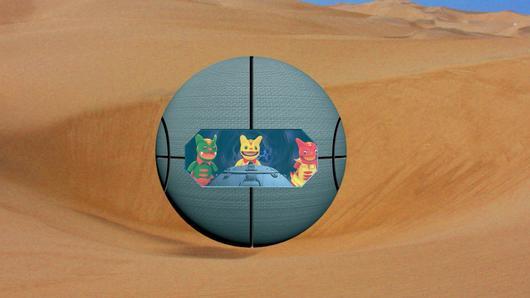 TataTitiToto ไดโนจอมป่วน - ไปดูการเกิดทะเลทราย