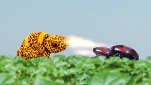 TataTitiToto ไดโนมหัศจรรย์ - แมลงผายลมอาละวาด