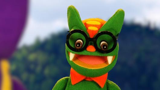 TataTitiToto ไดโนจอมป่วน - โตโต้ใส่แว่น