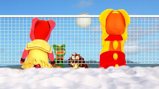 TataTitiToto ไดโนมหัศจรรย์ - แข่งวอลเลย์บอลชายหาด