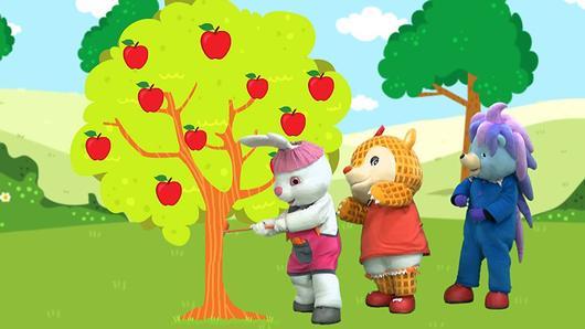 ขบวนการ Fun น้ำนม - แอปเปิ้ลสีแดง