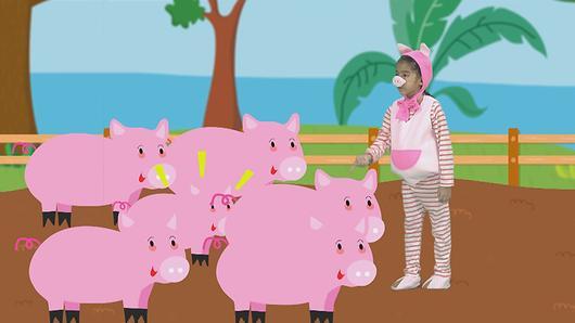 ขบวนการ Fun น้ำนม - หมูสีชมพู