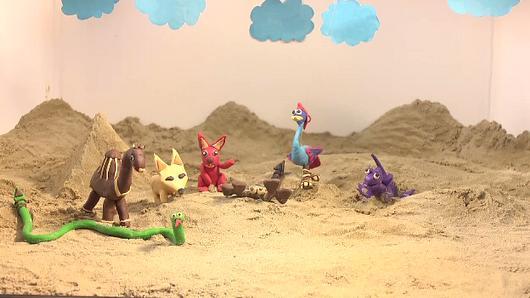 ขบวนการ Fun น้ำนม - เรื่องเล่าทะเลทราย