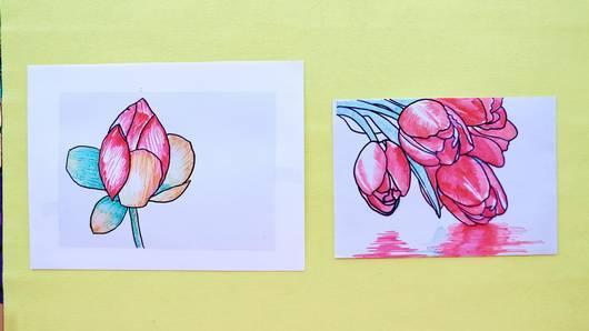 สอนศิลป์ - ศิลปะกระจกสี