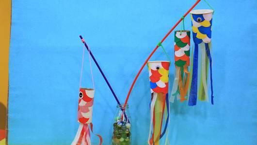 สอนศิลป์ - ธงปลาตากลม