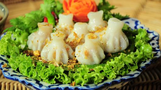 หม้อข้าวหม้อแกง - ขนมจีบไทย