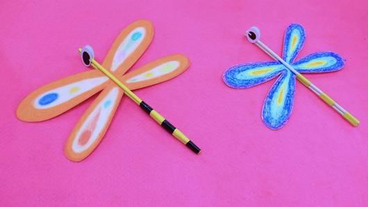 สอนศิลป์ - แมลงปอตะเกียบ