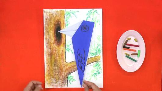 สอนศิลป์ - นกหัวขวาน