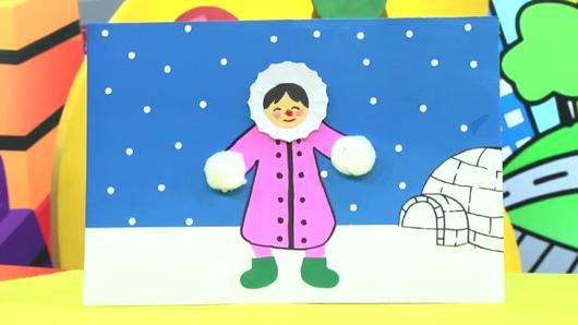 สอนศิลป์ - เอสกิโมตะลุยน้ำแข็ง