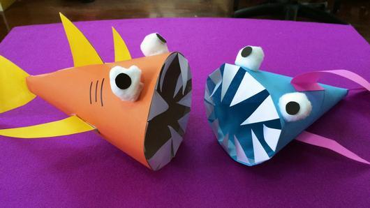 สอนศิลป์ - ปลาฉลามฟันแหลม