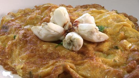 หม้อข้าวหม้อแกง - ข้าวผัดปูและไข่เจียวปู
