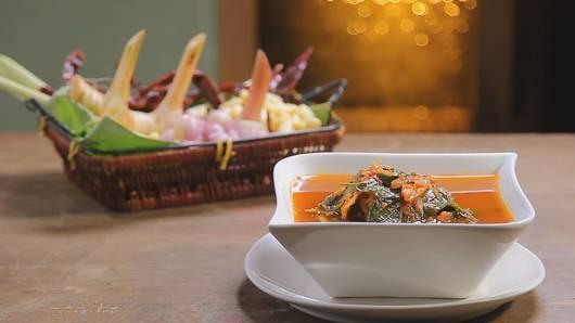 กินอยู่...คือ - แกงผักเชียงดาปลาแห้ง (ศุภณัฐ คณารักษ์)