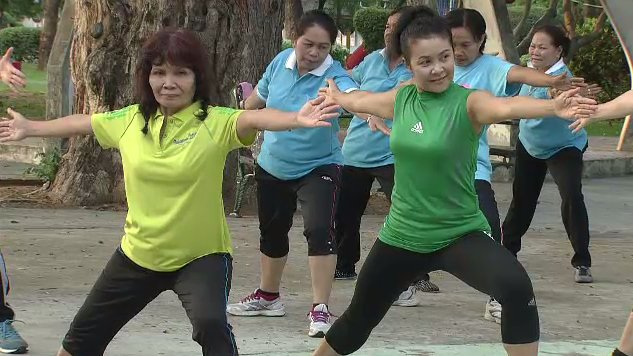 ข.ขยับ - บริหารกล้ามเนื้อสะโพกแก้อาการไหล่เอียง