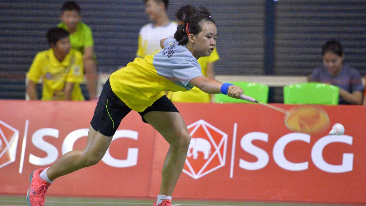 Thailand Junior Badminton Championship 2016 - รอบชิงชนะเลิศ