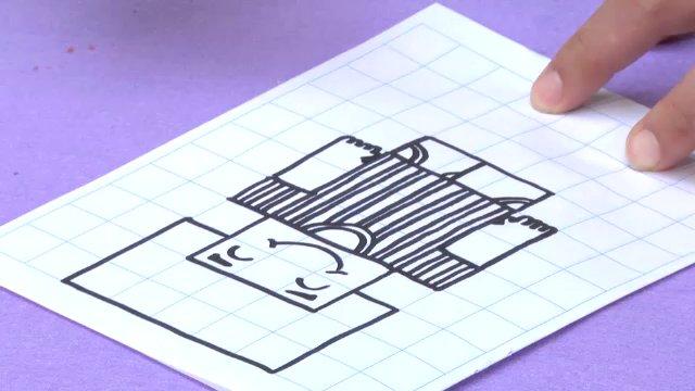 สอนศิลป์ - รูปเหลี่ยมน่ารัก