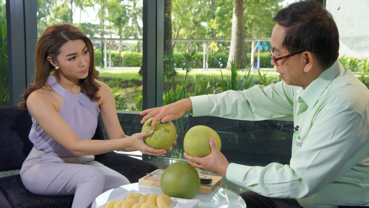 คนสู้โรค - วิธีเลือก และประโยชน์ของส้มโอ, โยคะบรรเทาอาการปวดต้นขา