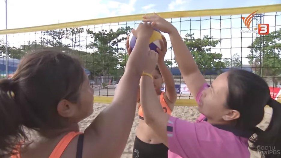 OBEC Young Beach Volleyball 2016 Inspired by Thai PBS - สนามที่ 3 : รอบชิงแชมป์ภาคเหนือ จากโรงเรียนวชิรปราการวิทยาคม จ.กำแพงเพชร