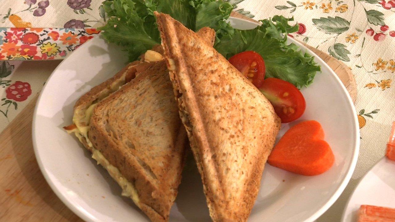 หม้อข้าวหม้อแกง - แซนด์วิชเห็ด