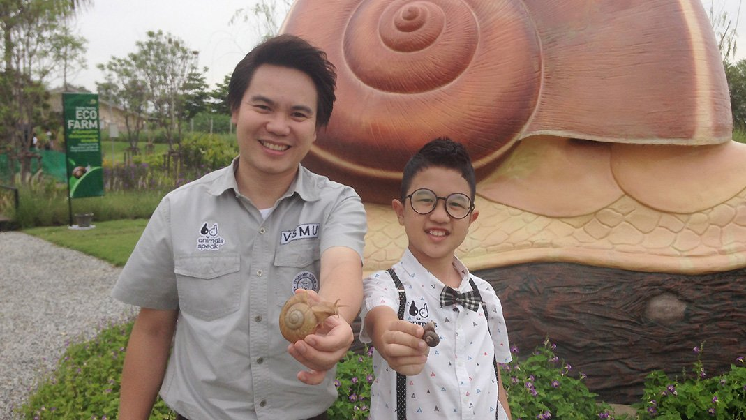 Animals Speak - เมือกหอยทากไทย (คุณค่าที่คุณควรรู้!)