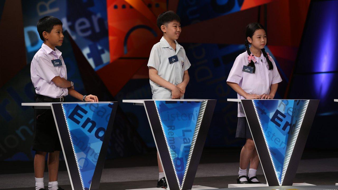 Good morning Vocab King - การแข่งขันรอบ Spelling Teamwork 1