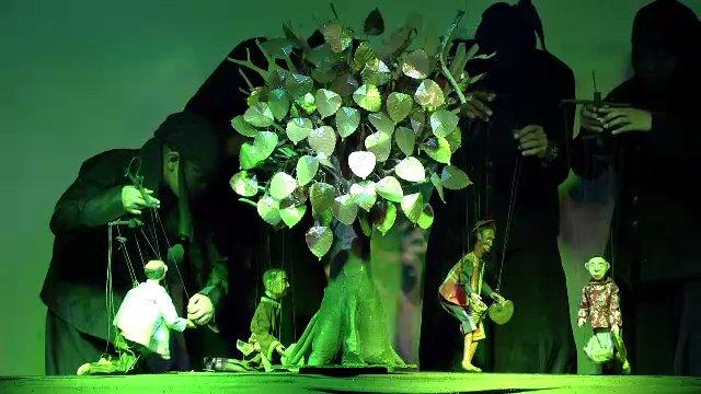 แสงจากพ่อ - การแสดงหุ่นสายเทิดพระเกียรติ
