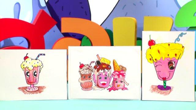 สอนศิลป์ - นมปั่นแสนอร่อย