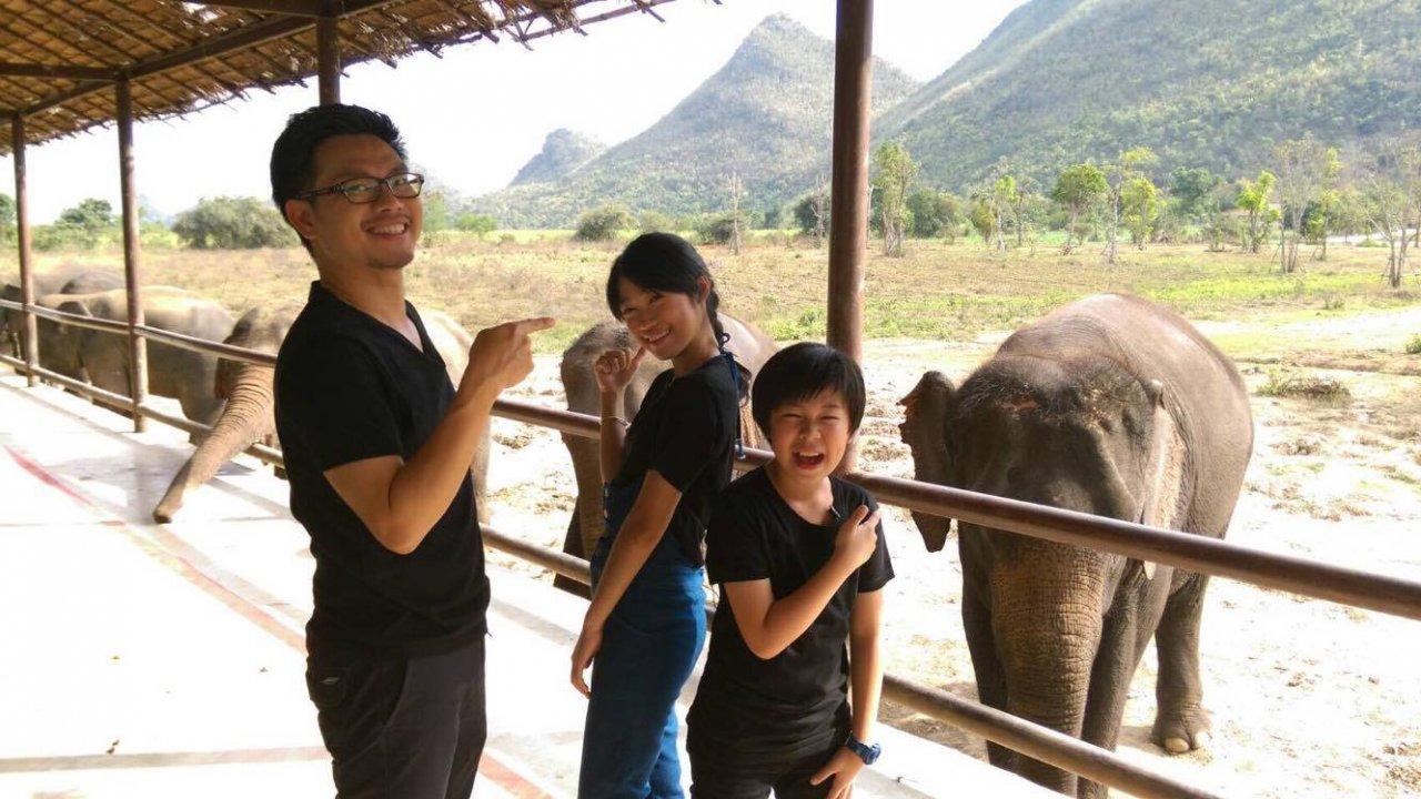 คิดส์คลับ - เด็กเลี้ยงช้าง