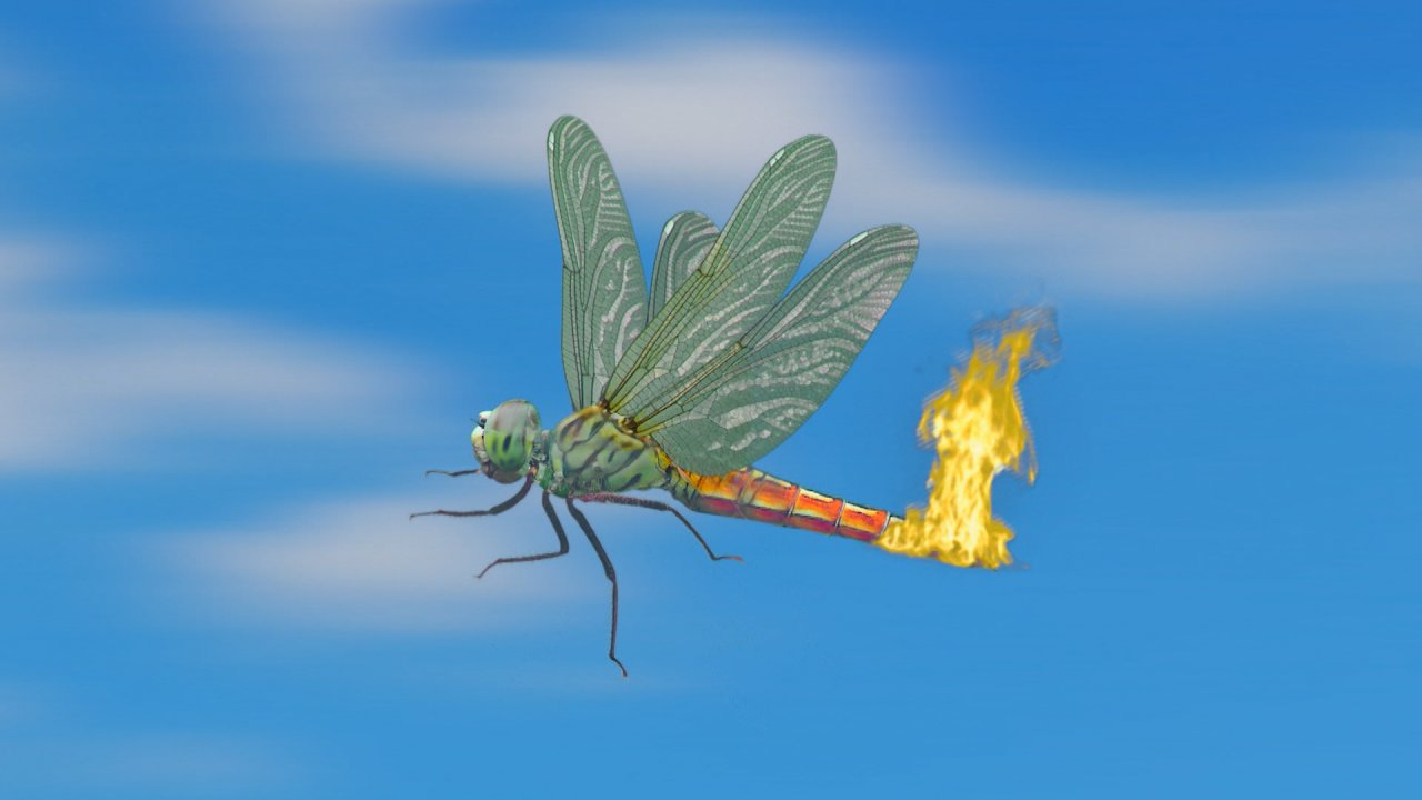 TataTitiToto ไดโนจอมป่วน - แมลงปอเกเร
