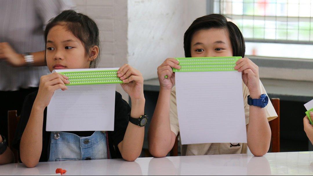 คิดส์คลับ - โรงเรียนสอนคนตาบอดกรุงเทพ