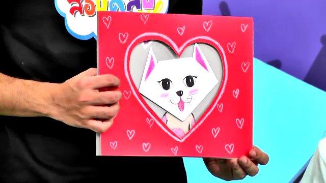 สอนศิลป์ - การ์ดแมวเหมียว