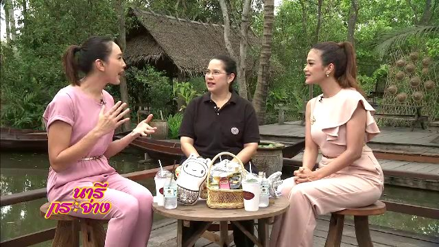 """นารีกระจ่าง - โครงการอัมพวา ชัยพัฒนานุรักษ์ , """"ขนมวงทอง"""" ขนมไทยโบราณแห่งตลาดน้ำอัมพวา"""