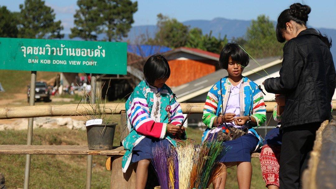 คิดส์คลับ - วัฒนธรรมของชาวไทยภูเขา