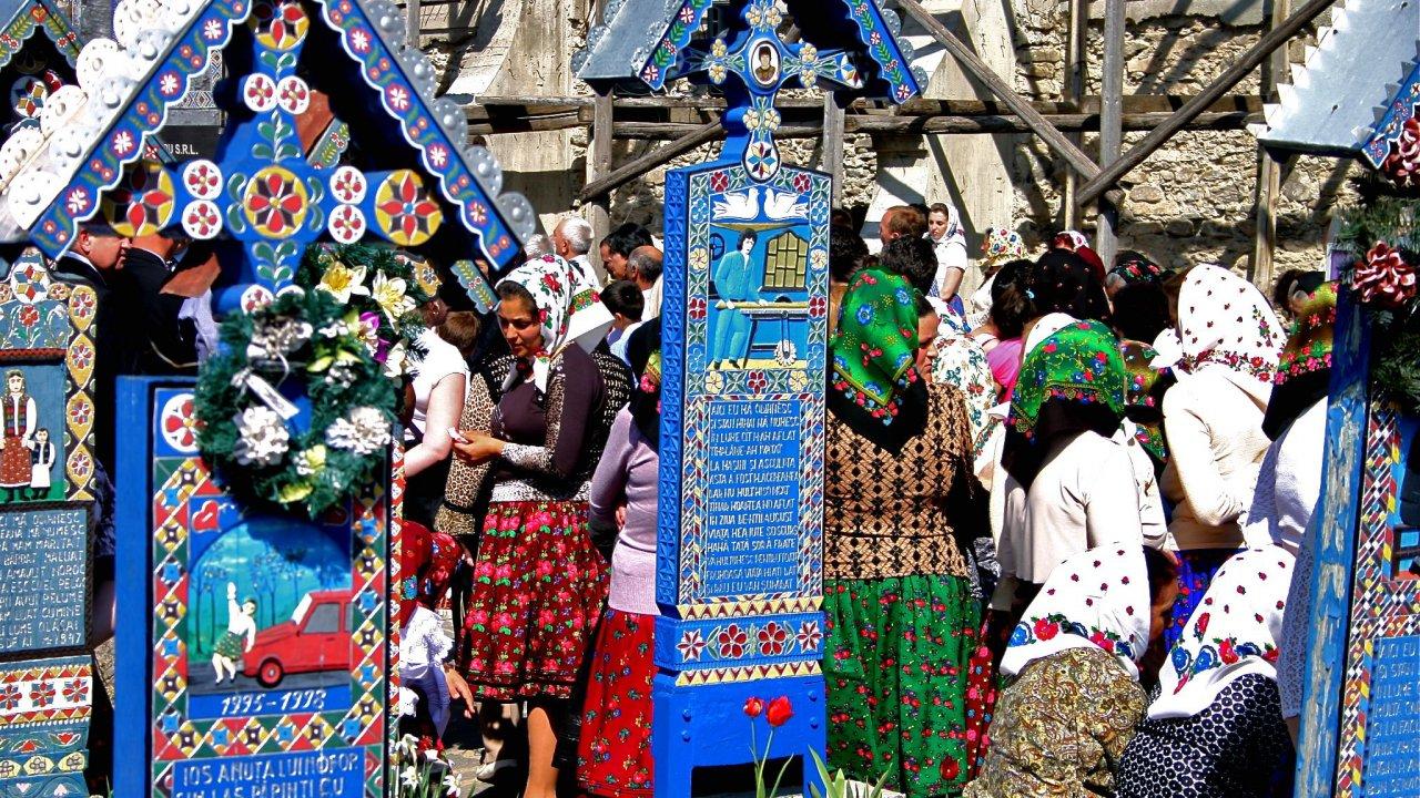 โลกหลากมิติ - โลก 360 องศา ตอน สุสานแสนสุขในโรมาเนีย