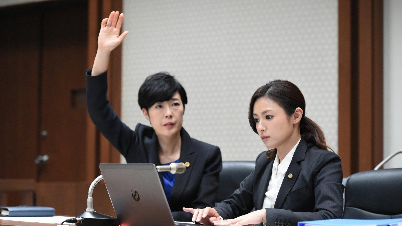 ซีรีส์ญี่ปุ่น ทนายสาวหัวใจแกร่ง - Girls in the Bar : ตอนจบ