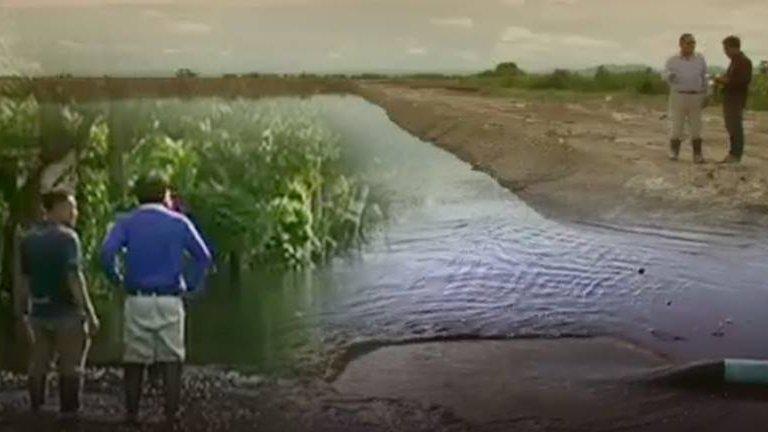 สถานีประชาชน - ประกาศเขตให้ความช่วยเหลือหลังน้ำเสียจากโรงงานท่วม 3 อำเภอ จ.สุพรรณบุรี
